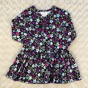 Hanna Andersson Tunic Dress Size 90 US 3 Floral